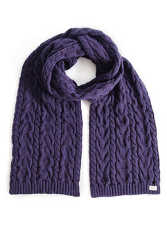 Valentina Fancy Cable Scarf