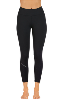 Signature Dual Pocket Ankle Biter Tight BLACK
