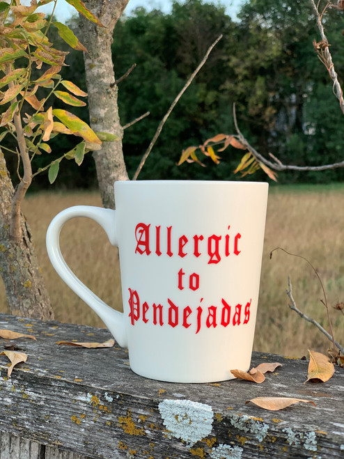Allergic Coffee Mug