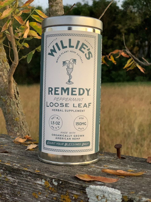 Willie's Remedy Peppermint Tea