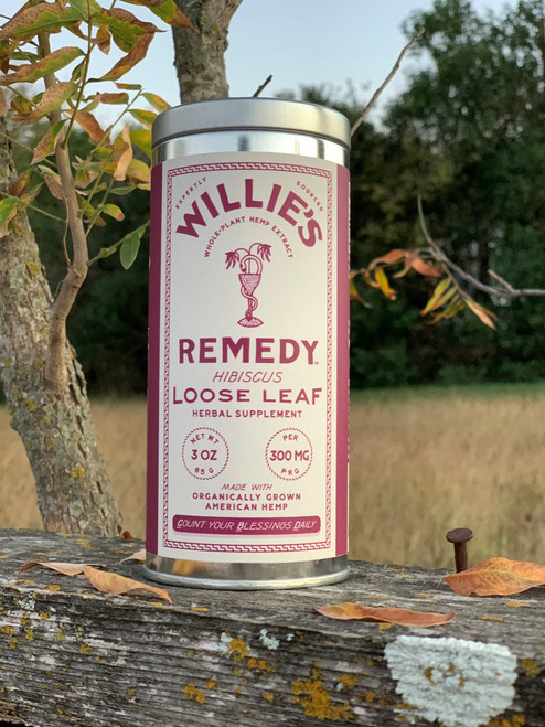 Willie's Remedy Hibiscus Tea