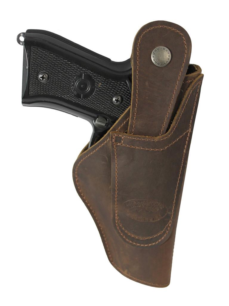 Left hand belt loop holster- back