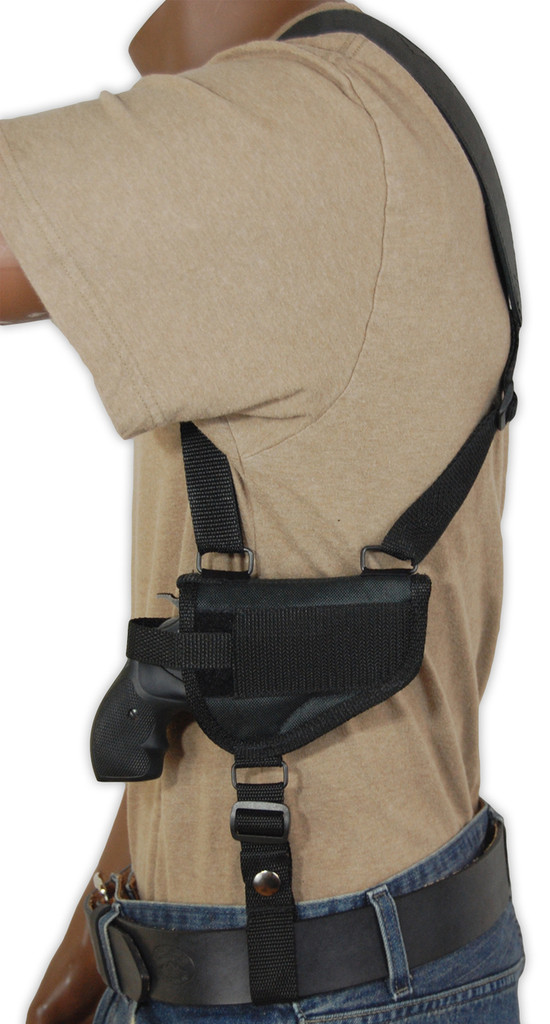 horizontal shoulder holster