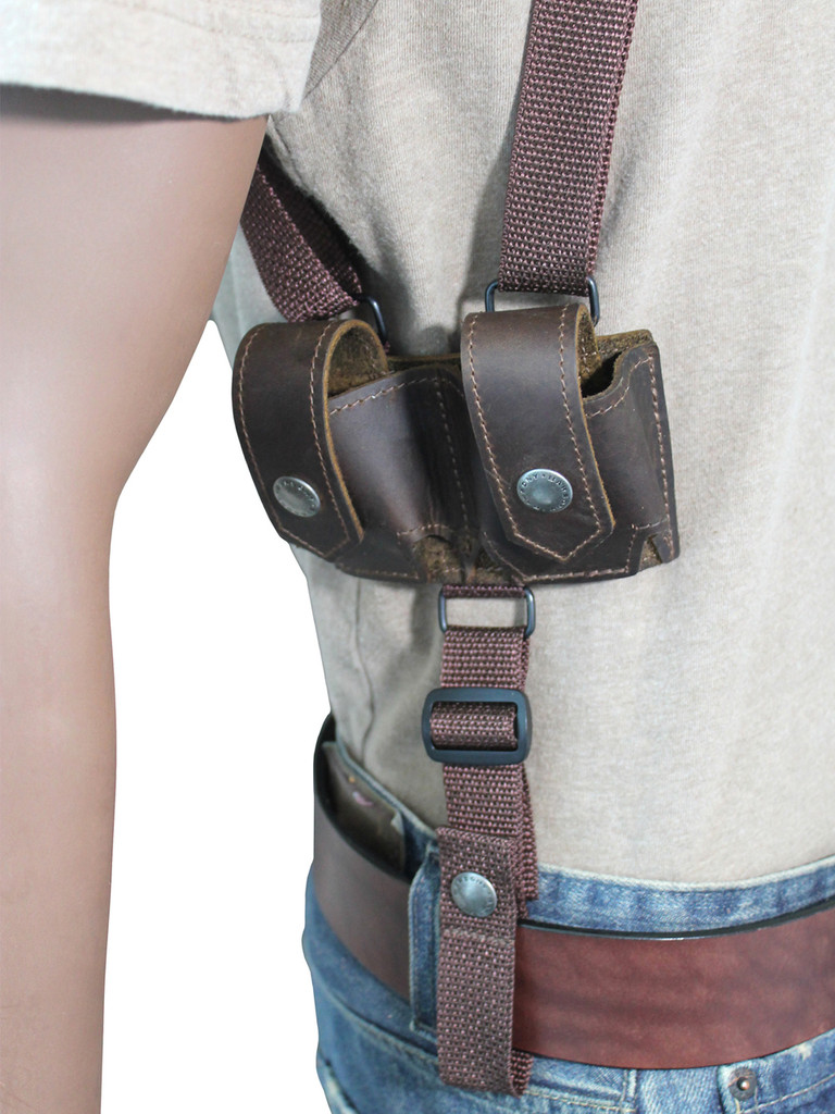 horizontal speed-loader pouch
