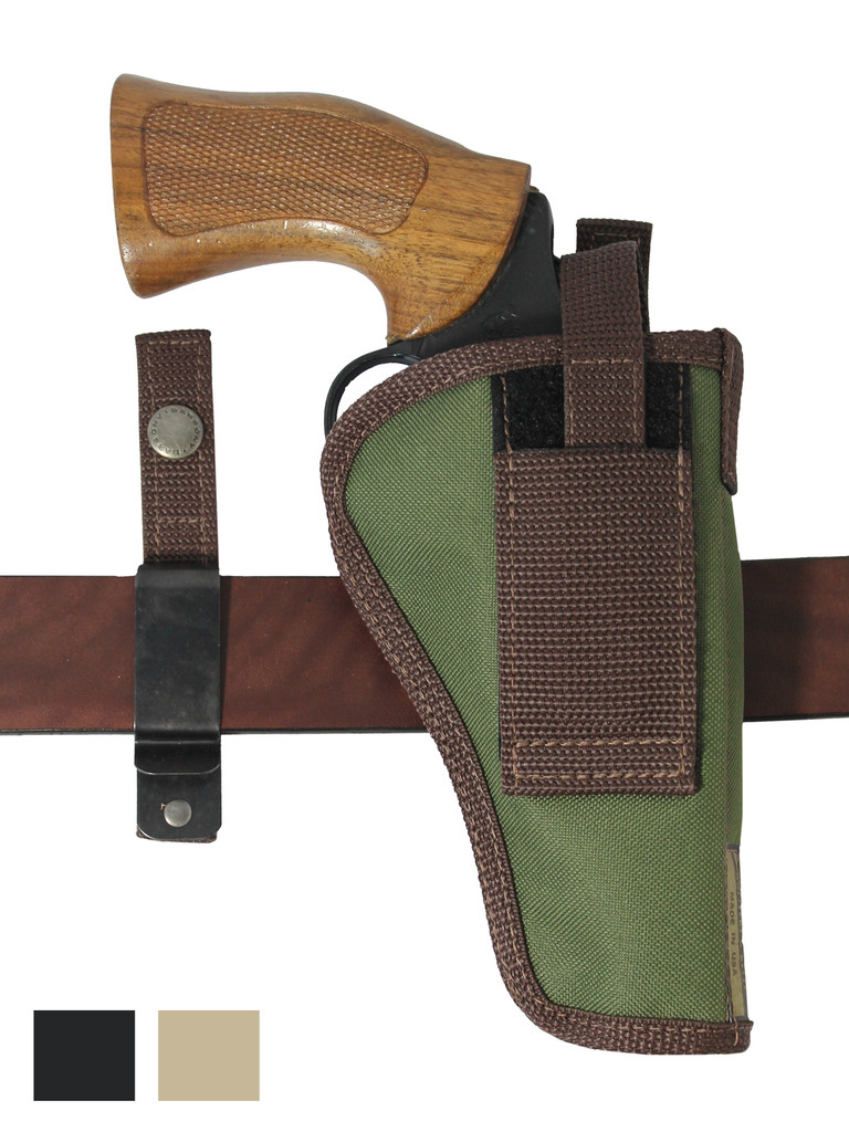 """360Carry 12 Option OWB IWB Cross Draw Holster for 4"""" Revolvers"""
