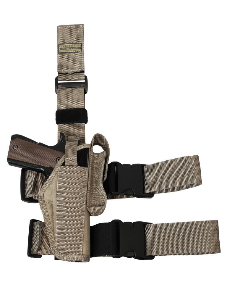 tactical leg holster for full size pistols