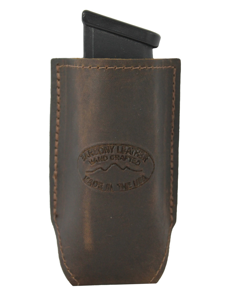 leather magazine pouch