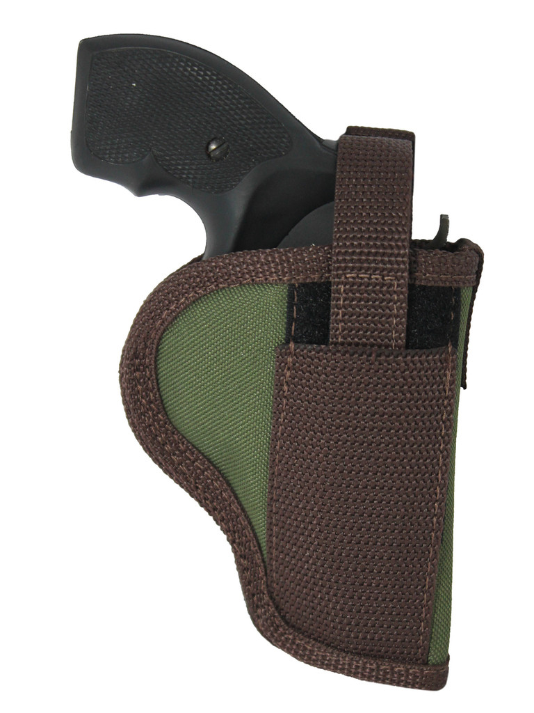"Holster store: Woodland Green OWB Holster for 2"", Snub-Nose .38 .357 Revolvers"