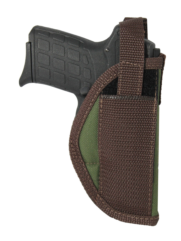 Woodland Green OWB Holster for .380, Ultra-Compact 9mm 40 45 Pistols