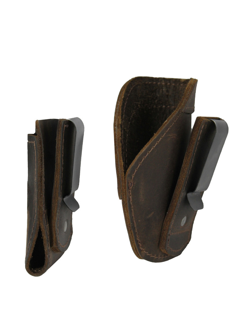 brown leather concealment holster
