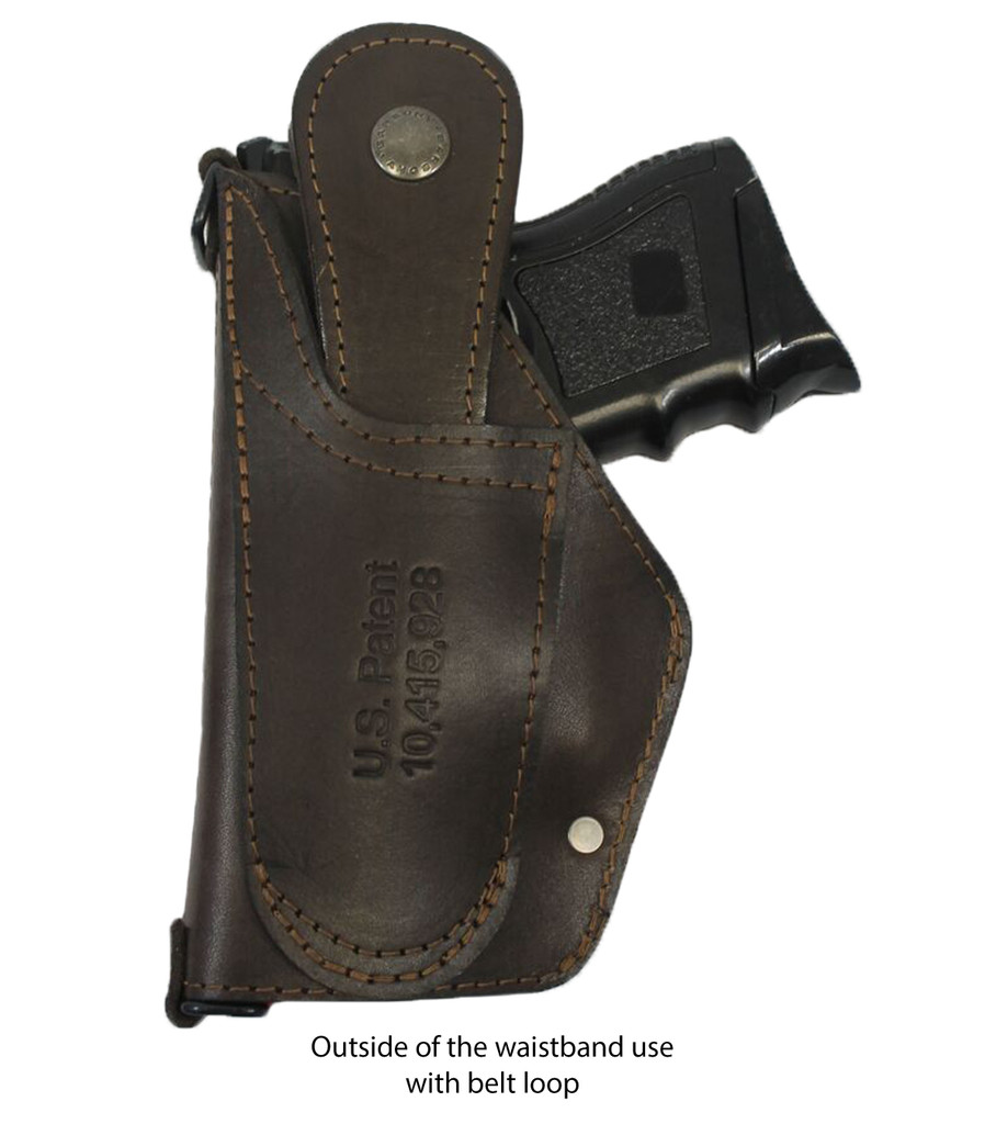 leather belt loop holster