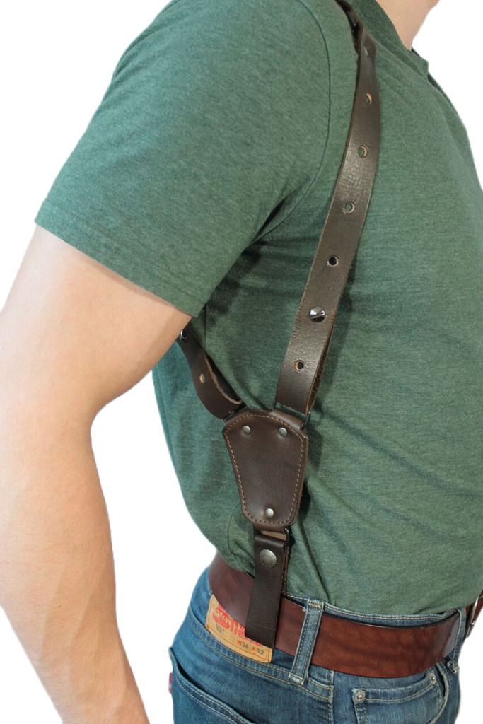 leather belt tie down