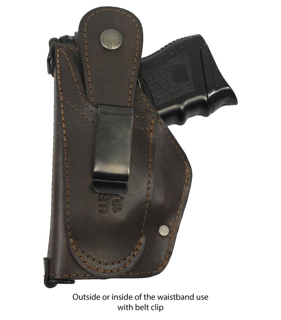 leather belt clip holster