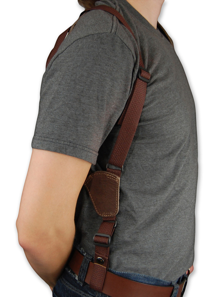 belt tie down for shoulder holster
