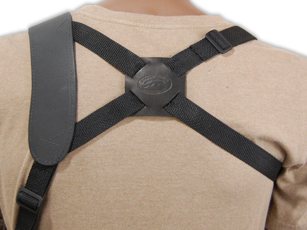 back piece for shoulder holster