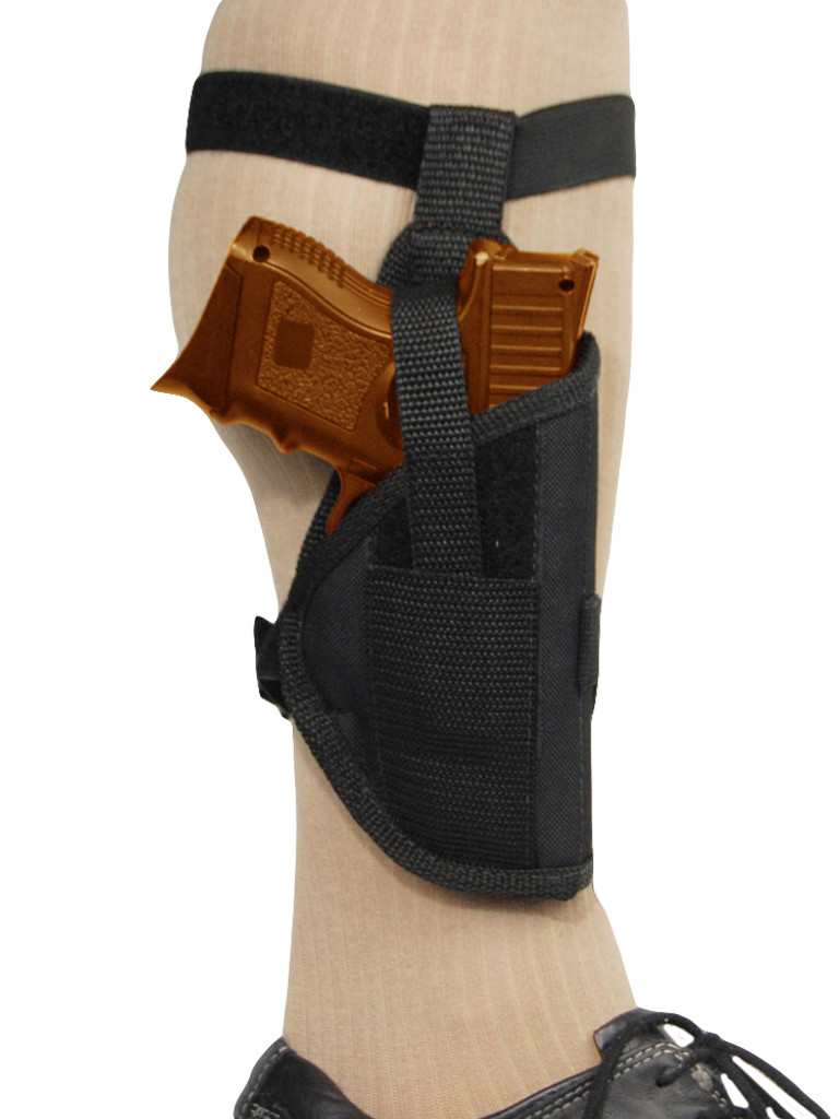 Ankle Holster for .380, Ultra-Compact 9mm 40 45 Pistols