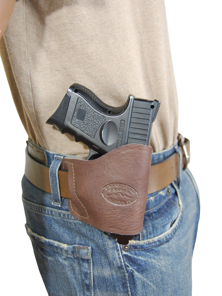 belt holster for compact 9mm 40 45 pistols