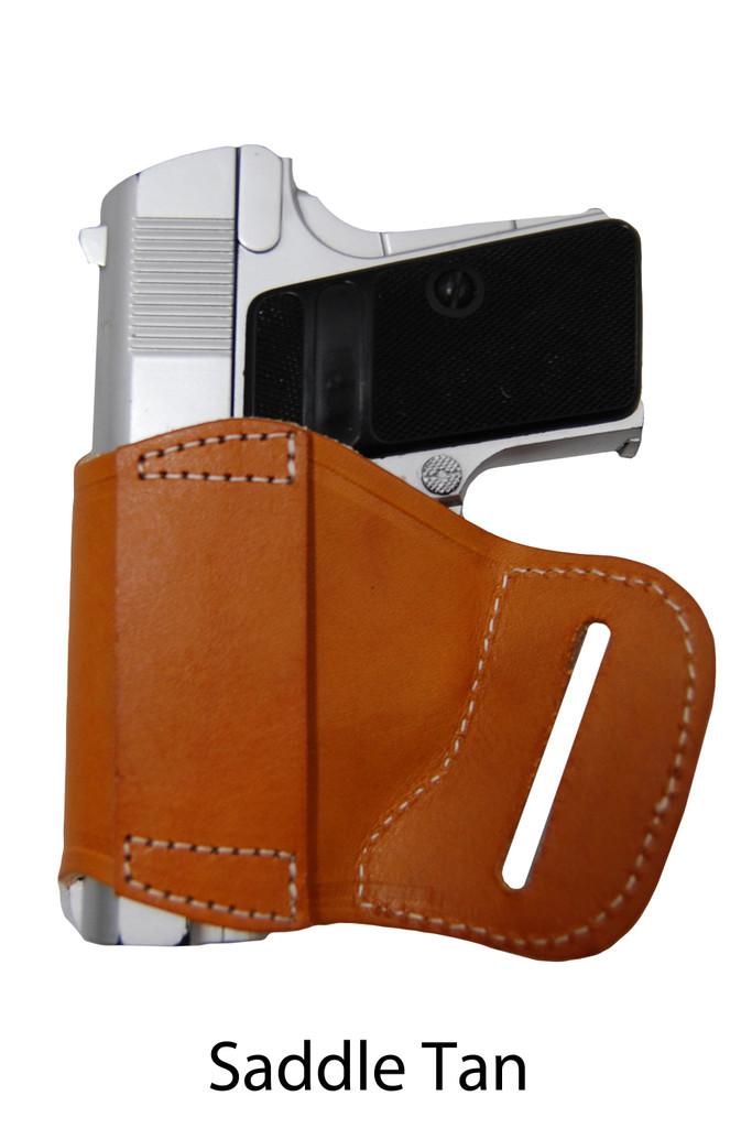 saddle tan leather yaqui holster