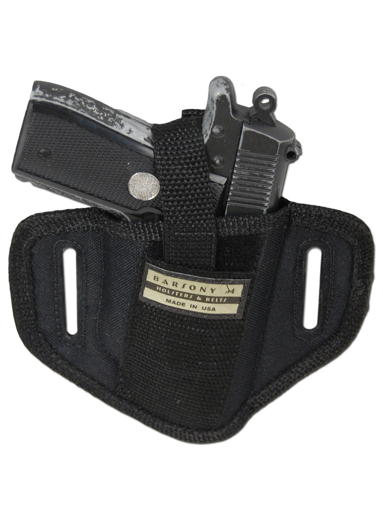 6 Position Ambidextrous Pancake Holster for 380, Ultra Compact 9mm 40 45 Pistols