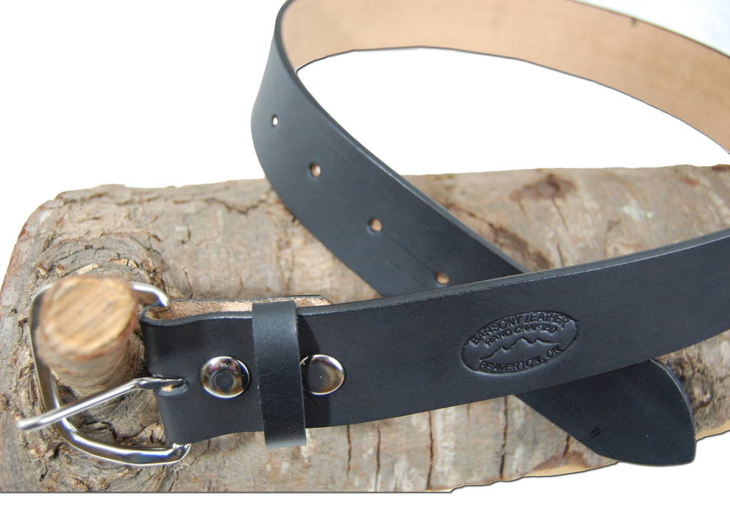 """1.75/"""" 53/"""" Heavy Duty Leather Belts for Sizes 47/"""" New Barsony 1 3//4/"""""""