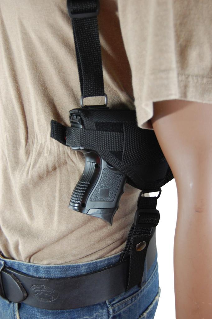ambidextrous shoulder holster