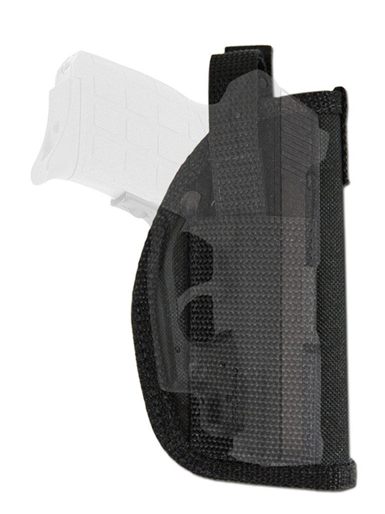 holster for pistols with laser