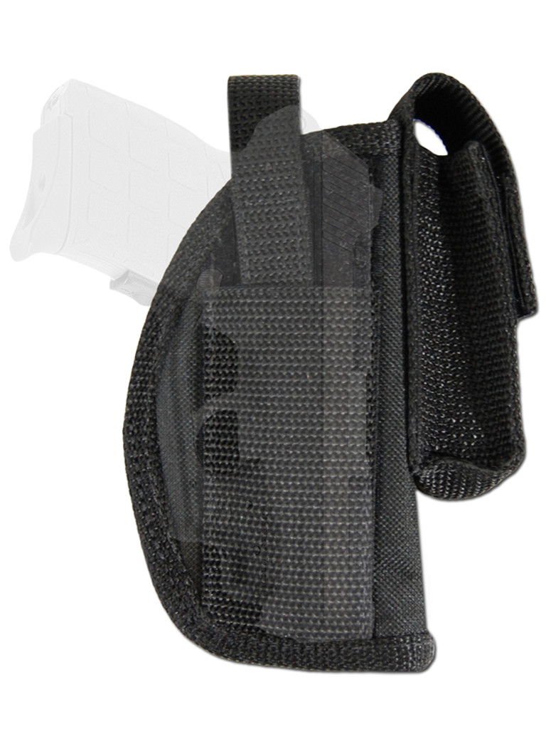 holster for pistols with laser sights