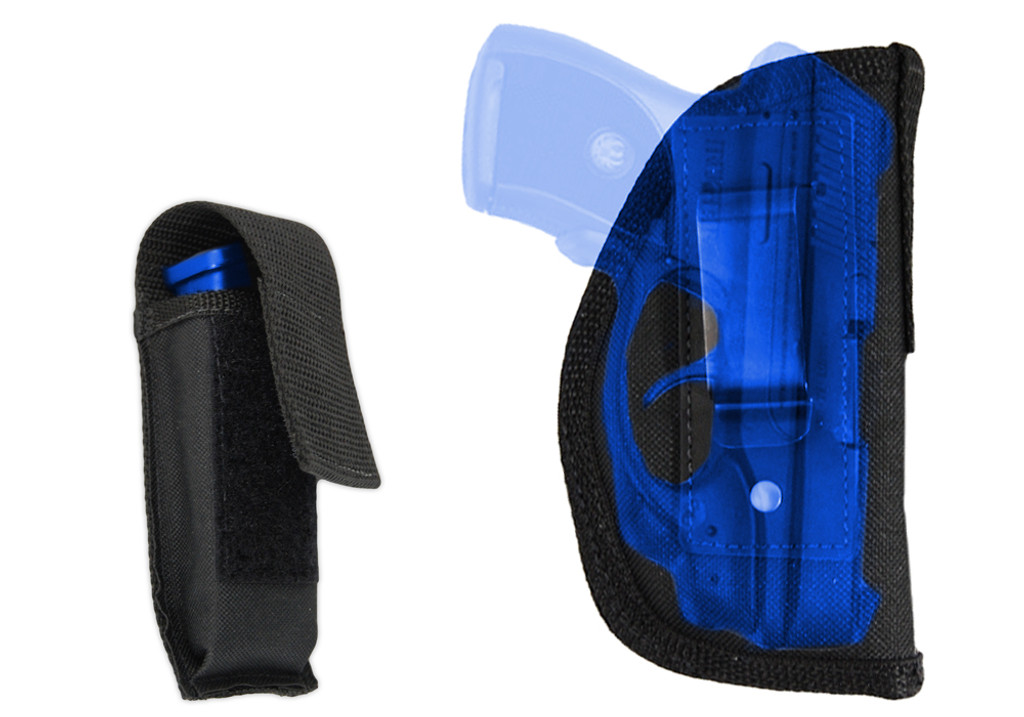 IWB holster with magazine pouch