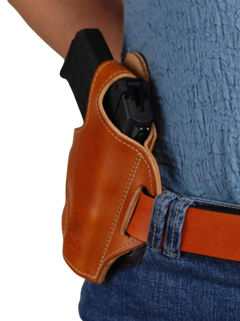 leather belt holster