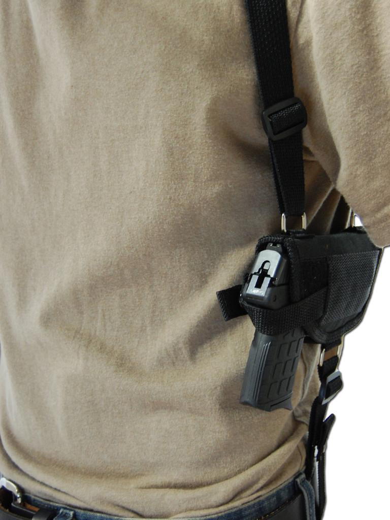 horizontal shoulder holster