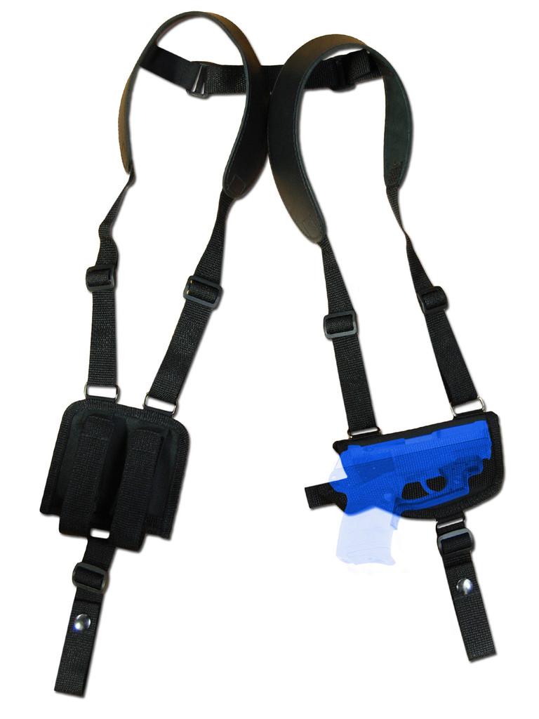 shoulder holster for pistols with laser