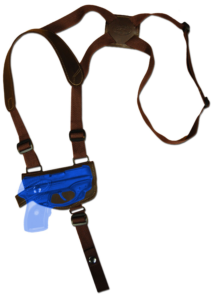 shoulder holster for pistols with laser