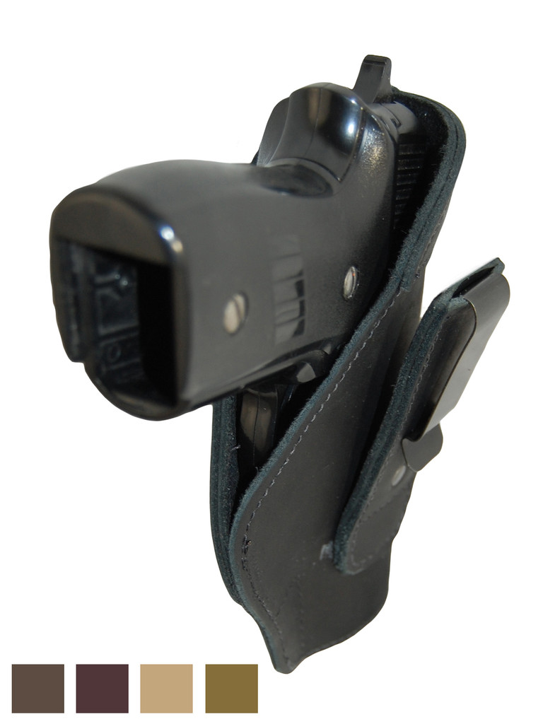 Leather Tuckable IWB Holster for Full Size 9mm .40 .45 Pistols
