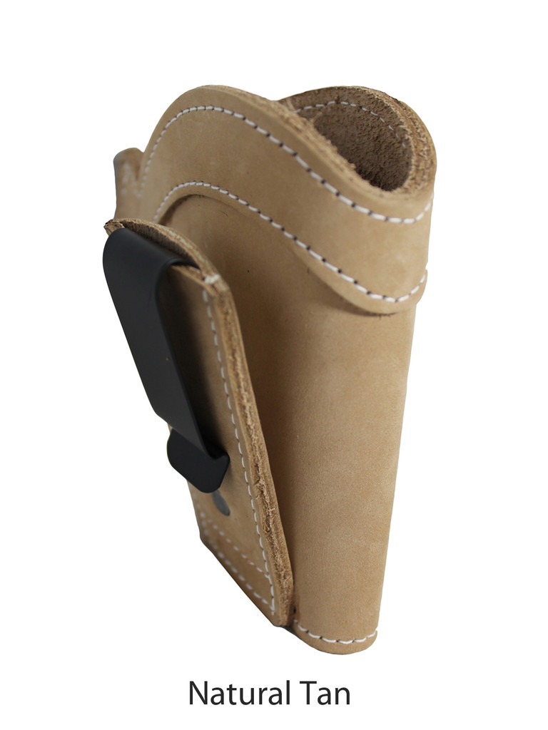 natural tan leather tuckable holster