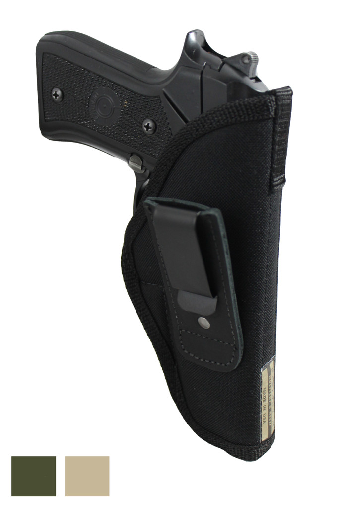 Tuckable IWB Holster for Full Size 9mm .40 .45 Pistols