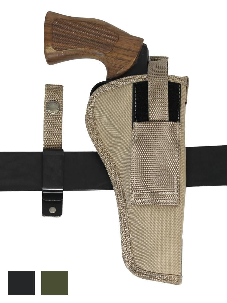"""New 360Carry 8 Option OWB Cross Draw Holster for 6"""" Revolvers (#360C-6NY)"""