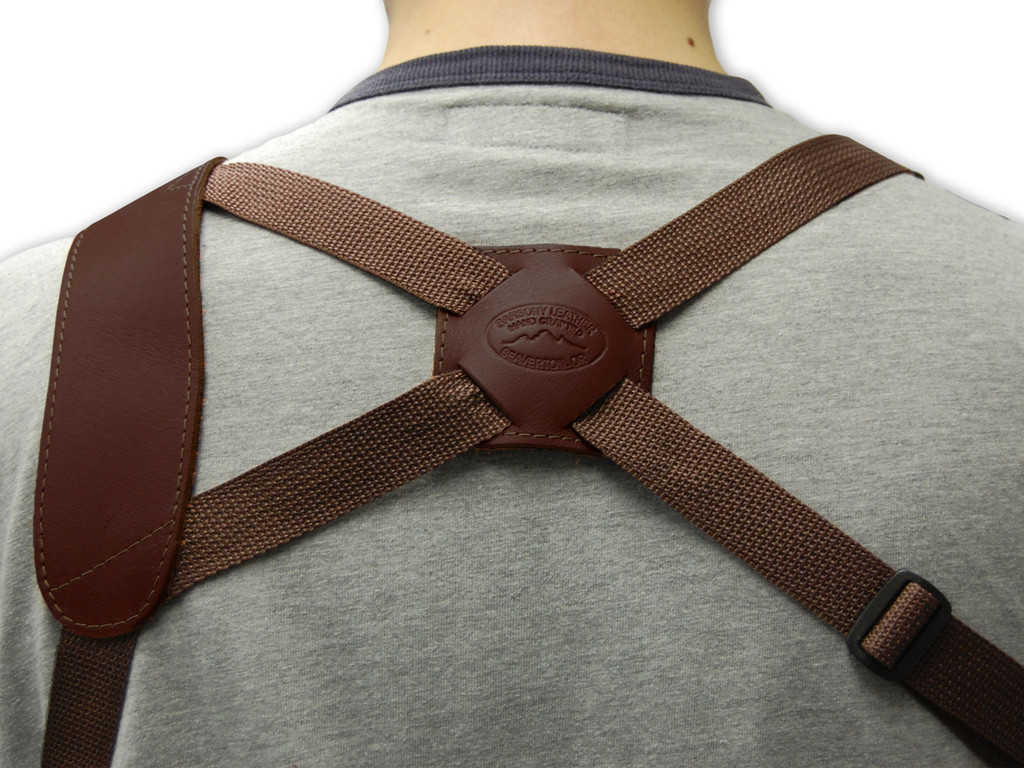 back piece of shoulder holster