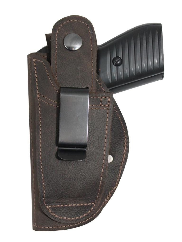 Right hand belt clip holster