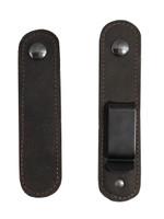 Interchangeable from belt clip to loop vice versa
