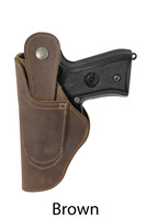 brown leather 360Carry ambidextrous holster