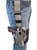 Desert Sand Tactical Leg Holster for Full Size 9mm 40 45 Pistols