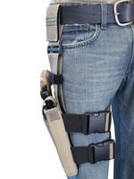 adjustable revolver leg holster