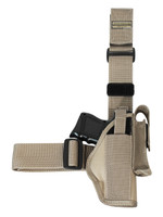 leg holster for compact size pistols