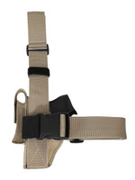 leg holster with magazine pouch