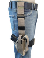 Desert Sand Tactical Leg Holster for Compact Sub-Compact 9mm 40 45 Pistols