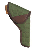 "Woodland Green Flap Holster for 4"" Revolvers"