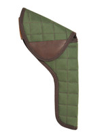 """Woodland Green Flap Holster for 6"""" Revolvers"""