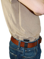 New Brown Leather Tuckable IWB Holster + Magazine Pouch for Mini/Pocket .22 .25 .380 Pistols (CTU68-4sBR)