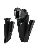 Black Leather Tuckable IWB Holster + Magazine Pouch for Mini/Pocket .22 .25 .380 Pistols