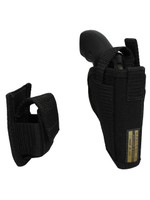 revolver holster with speed loader pouch